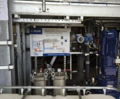 DecaPress® centrifuge installation at Stirling