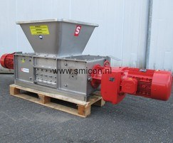 SMIDE shredders for preparing flows of foodstuffs