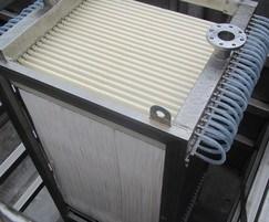 Hollow fibre membrane SADF module