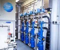 MSE Hiller DecaPress centrifuge