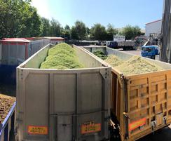Separated solids for disposal