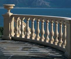 Spiral balustrade - private residence