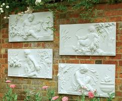 Clifton Coade Season Wall Plaques