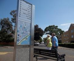 dCipher™ improves the pedestrian wayfinding experience