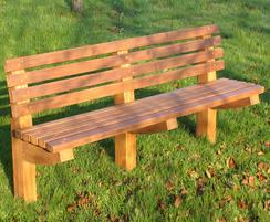 Gallsbrough hardwood park bench