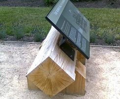 Low level lectern display