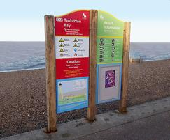 Protecting Kent's visitors with water safety signs