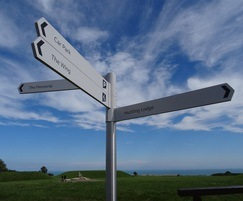 Bespoke fingerpost, Battle of Britain Memorial Trust