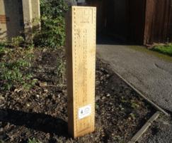 Bespoke timber sign