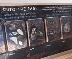 Interpretation panels - visitor centre