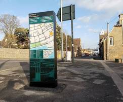 Wayfinding monolith for Ramsgate Town Council