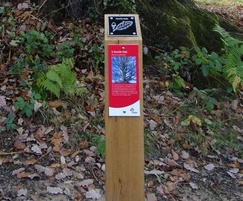 Activity trail signage