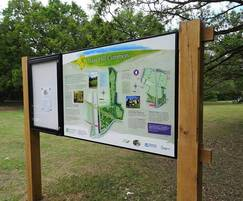 Combination interpretation display