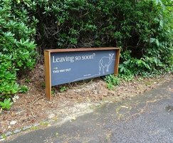 Hotel external sign