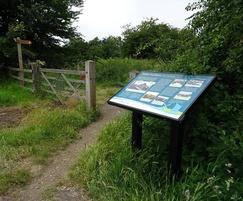 Musketeer steel lectern visitor information board