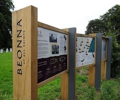 Bespoke interpretation signage