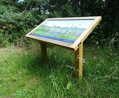 wildlife interpretation signage