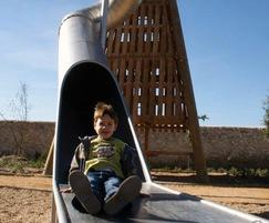 Tunnel Slide used with Pyramid Tower