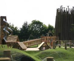 Pensthorpe wild rootz play area
