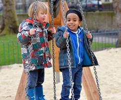 Refurbishment of Millfield Park play area, Hackney