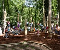 Coombe Abbey Park >> Bespoke climbing forest, Coombe Abbey Country Park | Timberplay | ESI External Works