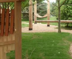 Adventure play area, Pensthorpe Natural Park