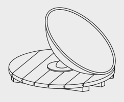 Wobble Dish - drawing