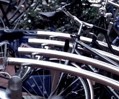 Provides a solution to the need for bicycle parking
