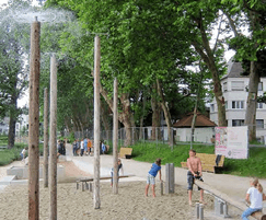 Forest Fountain for water play