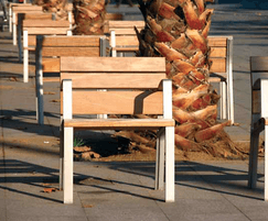 Santa & Cole NeoRomantico Liviano bench