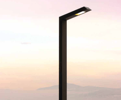 The 108 street light is a simple functional street lamp