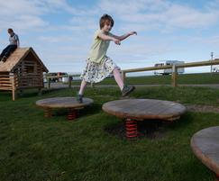Jumping Discs, great fun for any play area
