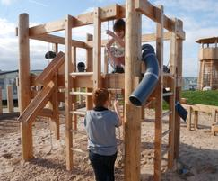 The Building site, perfect for sand play