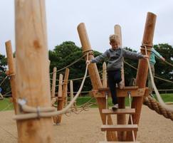 Yorkshire Wildlife Park's new play area