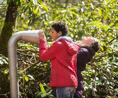 Bespoke activities include water and acoustic play