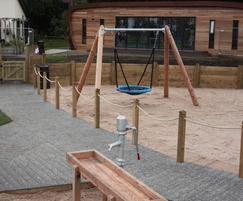 Sand and water play area for Lytham Park View