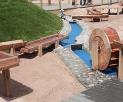 Water play area delivers a range of educational play