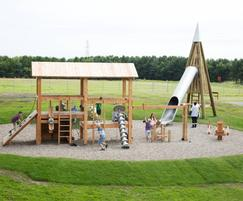 Woodhorn Museum's new play space by Timberplay