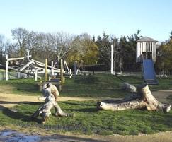 Kingston Recreation Ground climbing structure