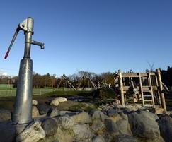 Kingston Recreation Ground Water pump