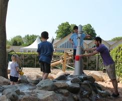 Wentworth Garden Centre Water Play, Playground Pump 2