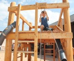 Wentworth Garden Centre Sand Play, Building Site