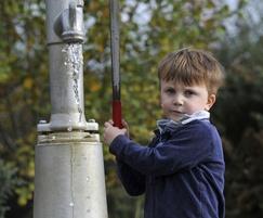 Tumbling Bay water playground pump