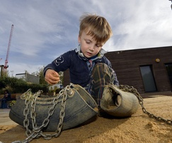 Tumbling Bay sand play