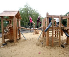 Wicksteed Park Building site and hut combo