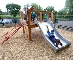 Wicksteed Park Platform with Slide
