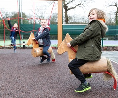 Timberplay created outdoor play areas for David Lloyd