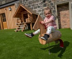 Indoor and outdoor play for Craigie's Farm