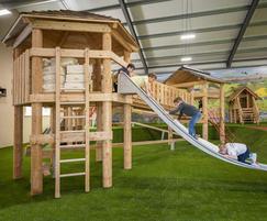 Indoor play barn - Craigie's Farm, Edinburgh