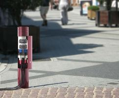 Power Bollard with Parc Paris Top